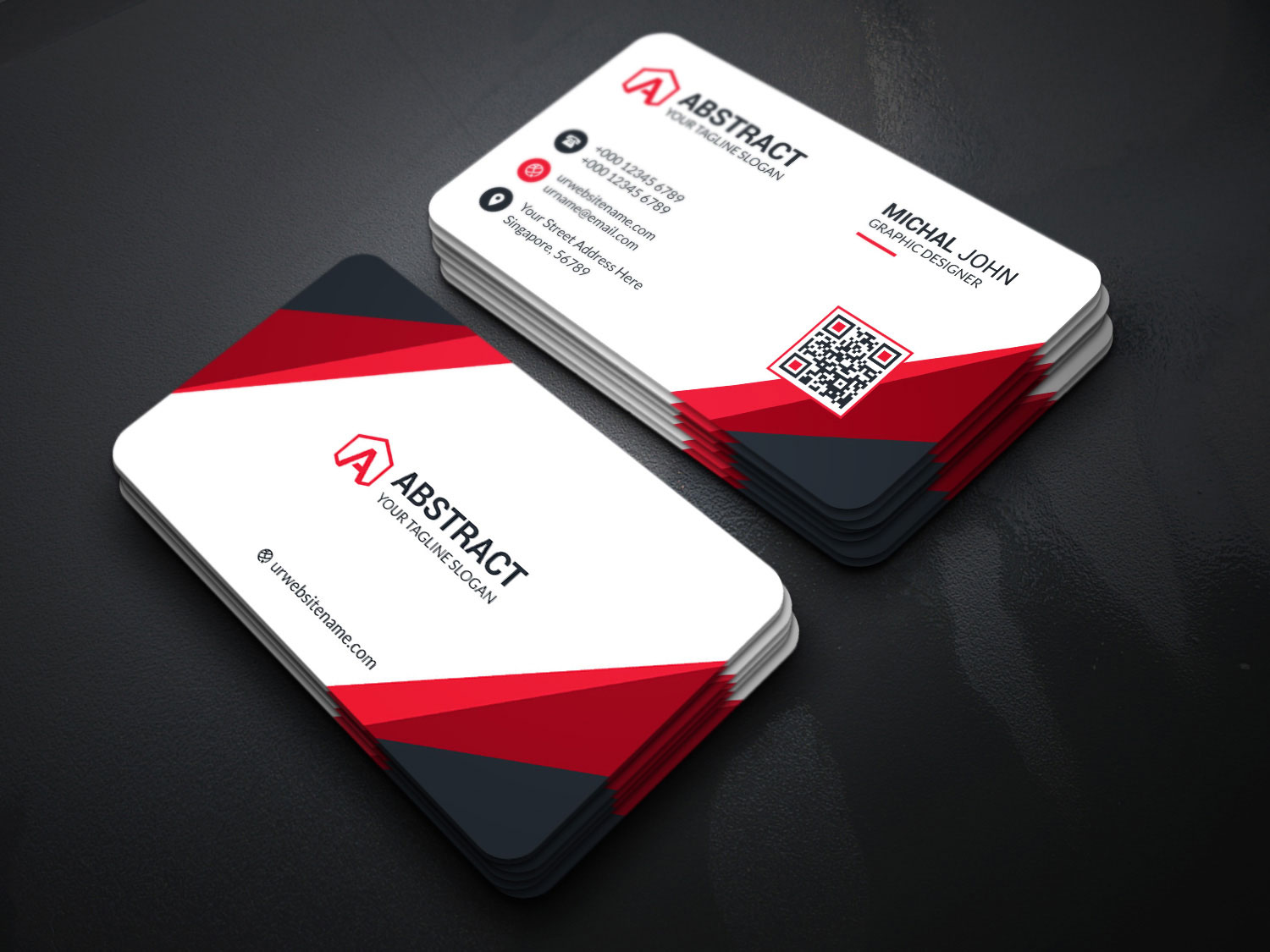 Corporate Business Cards Templates