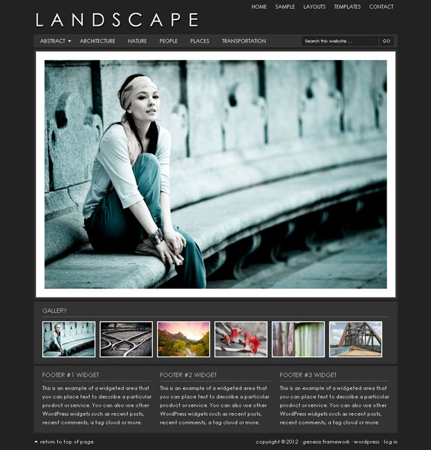 best photo gallery for thesis theme