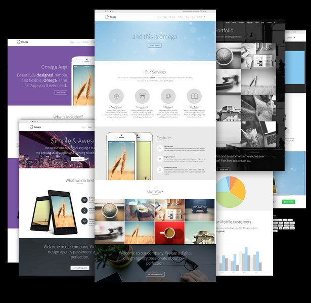 Omega - Multi-Purpose Responsive WordPress Theme