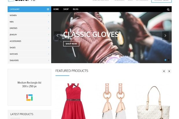 Estore Wordpress Theme | Premium Wordpress Themes | WP Elegant ...