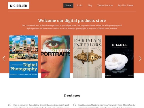Online Store WordPress Theme | Premium Wordpress Themes | WP Elegant ...