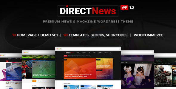 DirectNews - News & Magazine WordPress Theme - Blog / Magazine WordPress