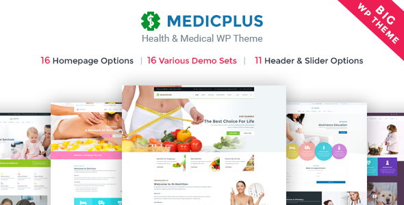 MedicPlus - Health & Medical WordPress Theme - Health & Beauty Retail