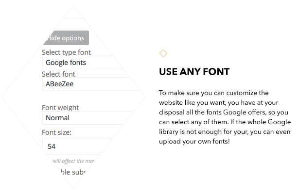 Unlimited fonts