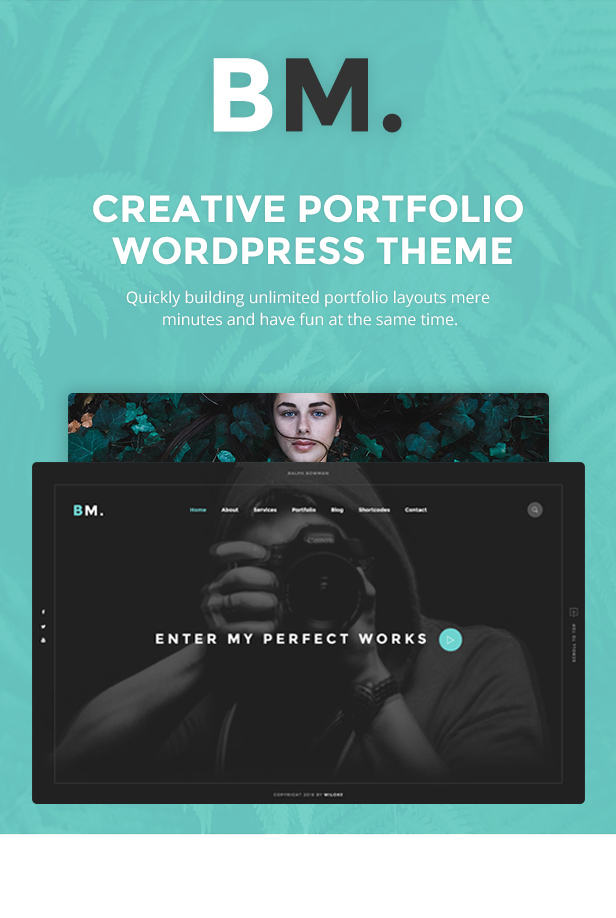 BM - Creative WordPress Theme
