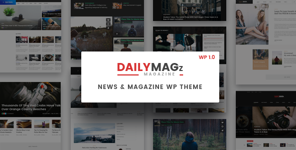 Newspaper WordPress Theme - DailyMagz (News, Magazine, Blog) - Blog / Magazine WordPress