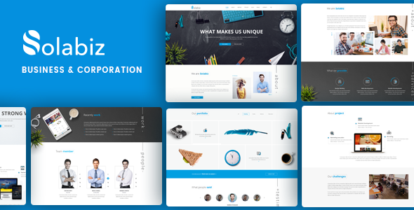 Solabiz - Business & Corporate WordPress Theme - Business Corporate