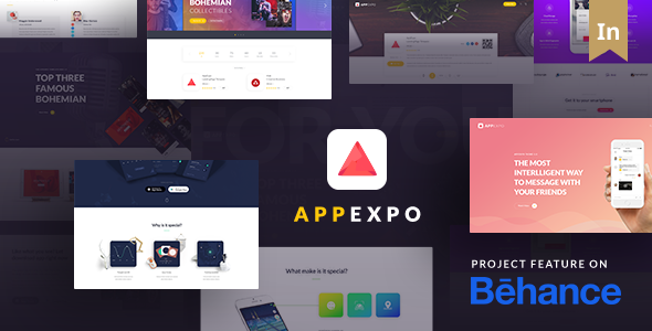 AppExpo - Multipurpose Application WordPress Theme (App Showcase, Appstore) - Technology WordPress